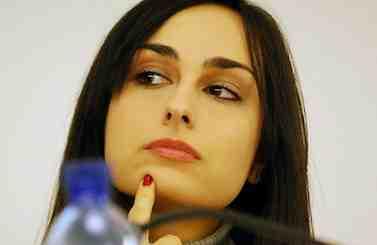 Rosanna Scopelliti, figlia del giudice Antonino, ammazzato dalla 'ndrangheta, è tra i candidati di punta di Berlusconi in Calabria.