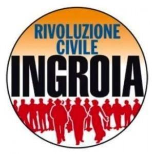 Il simbolo di Rivoluzione civile, il movimento dell'ex pm Antonio Ingroia.