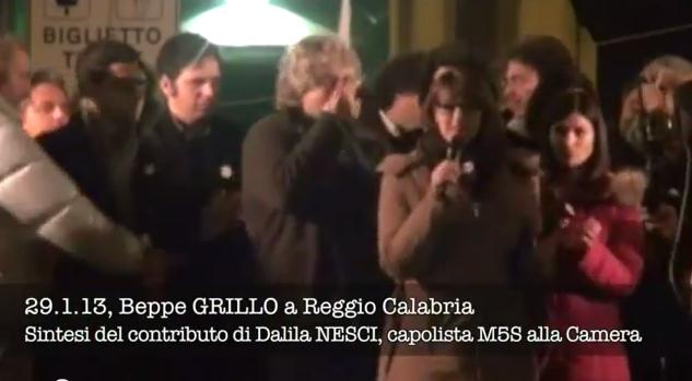 Reggio Calabria, 29 gennaio 2013, Tsunami Tour di Beppe.
