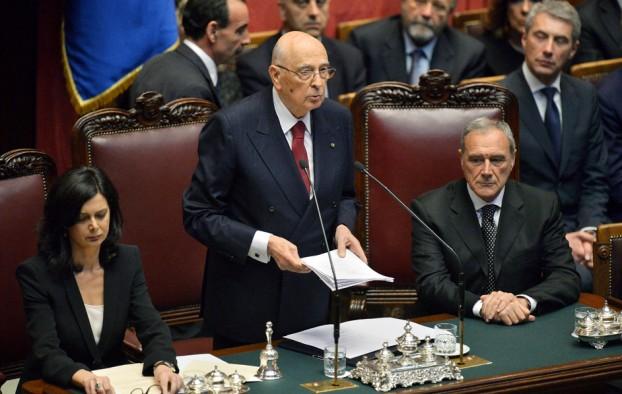 Napolitano discorso