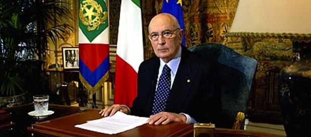 Giorgio Napolitano lettera Nesci