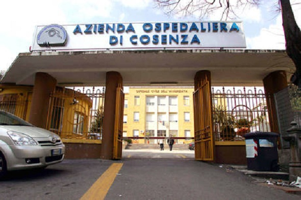 COSENZA 211�7<br /> IN FOTO L'SPEDALE DI COSENZA. ARENAFOTOCS