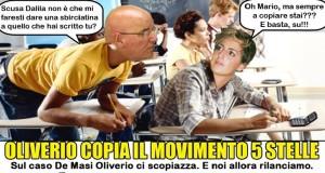Oliverio scopiazza M