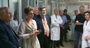 Nesci e D'Ippolito all'ospedale di Lamezia Terme