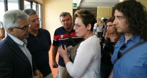 Nesci e Parentela all'ospedale di Crotone
