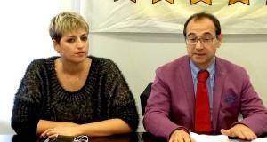 Dalila Nesci con Ilario Sorgiovanni