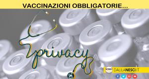 vaccini tutela privacy