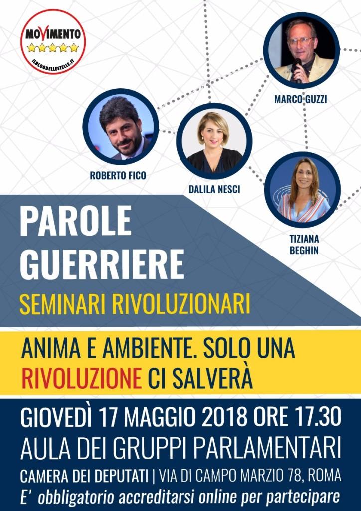 Parole Guerriere _ 17 Maggio Locandina web